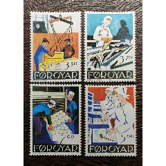 行業漁業~1990丹麥法羅群島漁業4全新(se78259399)_7788舊貨商城__七七八八商品交易平臺(7788.com)