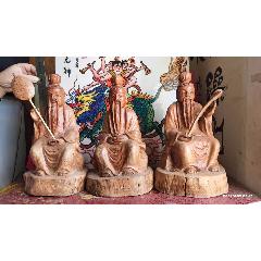紅木純手工雕刻,道教三清神像菩薩,總重12斤,每尊高30厘米(se78260792)_7788舊貨商城__七七八八商品交易平臺(7788.com)