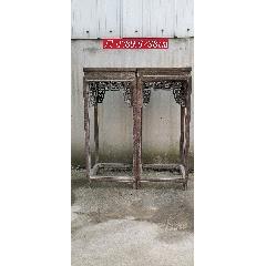 雞翅木花架一對,做工精致,美觀大方,全品(se78263749)_7788舊貨商城__七七八八商品交易平臺(7788.com)