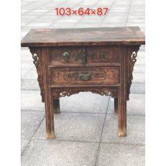 清代榆木桌柜。一流品相,做工精致講究,完美實用。(se78266035)_7788舊貨商城__七七八八商品交易平臺(7788.com)