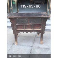 清代榆木桌柜。結實牢固,做工精致。(se78268908)_7788舊貨商城__七七八八商品交易平臺(7788.com)