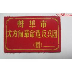 蚌埠市文革時期;胸章一塊(se78271332)_7788舊貨商城__七七八八商品交易平臺(7788.com)