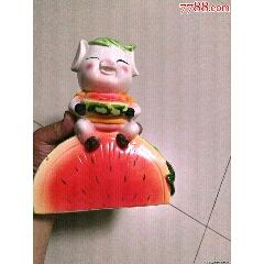 小豬吃西瓜存錢罐(se78271473)_7788舊貨商城__七七八八商品交易平臺(7788.com)