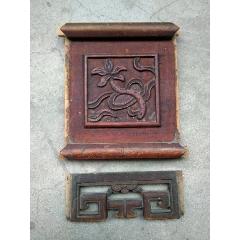 木雕花板兩個合售(se78632932)_7788舊貨商城__七七八八商品交易平臺(7788.com)