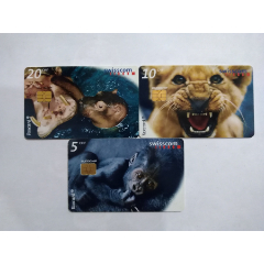 瑞士IC卡,動物3全(se78737821)_7788舊貨商城__七七八八商品交易平臺(7788.com)