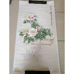 郭汝愚2010年作品.工筆牡丹