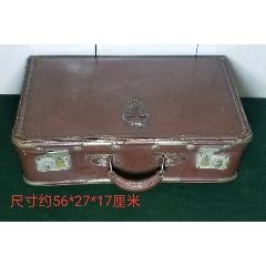 老式皮箱广州朱芳记出品