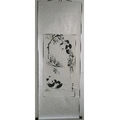 三尺呂林熊貓作品