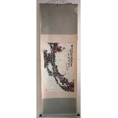 馬忠田~91年水墨寫意花鳥畫《梅花香自苦寒來》