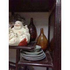 民國滿洲玻璃麒麟酒瓶!(se82405720)_7788收藏__收藏熱線