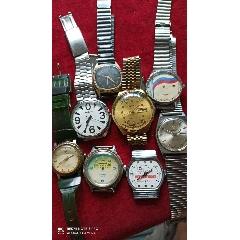 八块苏联手表合售,当配件出售