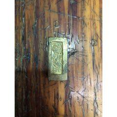 老銅鎏金銅錠-¥56 元_其他銀器_7788網