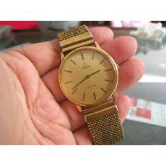 瑞士古董表包金欧米茄625中古表(手动机械)男