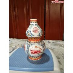 粉彩葫芦【玉满堂】酒瓶一个-¥20 元_酒瓶_7788网