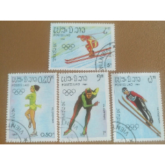 第14届冬季奥运会(盖销票4枚)(se82859132)_7788收藏__收藏热线
