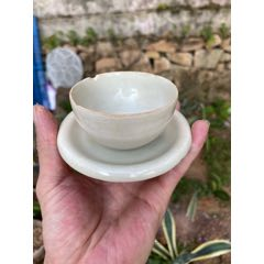 宋代茶盏,早期影青