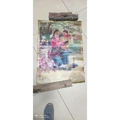 妈妈是神枪手的年画-¥50 元_年画/宣传画_7788网