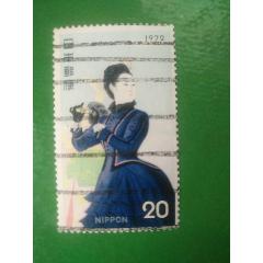 1972年集邮周(信销票1全)