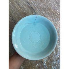 宋代·湖田窑·刻花·海水鱼纹·大碗