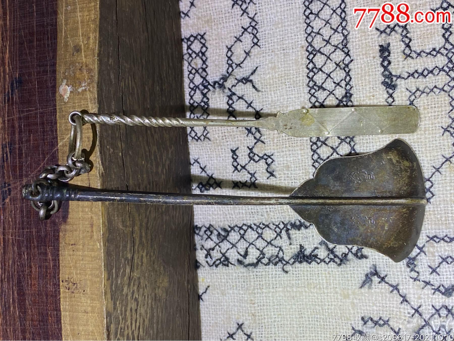 清朝银刮舌(银工具)_价格288元_第2张_7788收藏__收藏热线