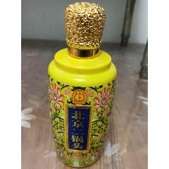 二锅头酒草纹玻璃酒瓶空瓶一只(se83255968)_7788收藏__收藏热线