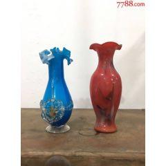 创汇琉璃花瓶一对-¥39 元_琉璃瓶_7788网