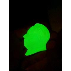 7公分硬塑料夜光-¥35 元_毛主席像章_7788网
