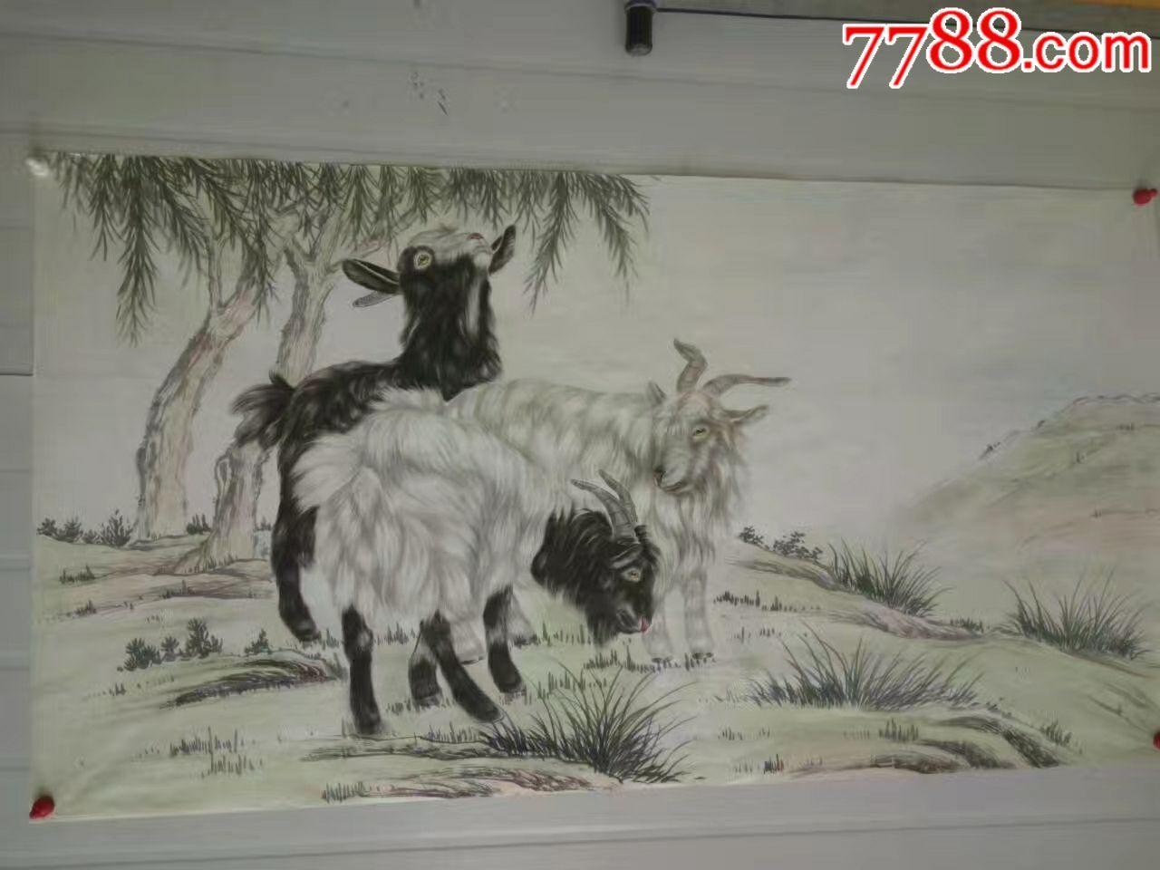 工笔动物画_单价150元/件【销售精品字画】_第9张_7788收藏__中国收藏