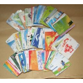电话卡100种不同各10张共1000张