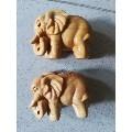 一对太行崖柏木雕象单个直径6.5厘米一对的价格(wh223954)_7788旧货商城__七七八八商品交易平台(www.0iy0.cn)