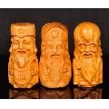 3个太行崖柏木雕佛像福禄寿一套3个的价格(wh227989)_7788收藏__收藏热线