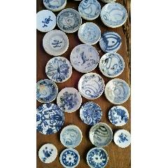 明清青花瓷标本加工成的茶杯垫(wh233927)_7788收藏__收藏热线