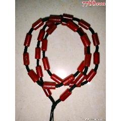 天然紅瑪瑙管珠桔皮紋摩擦面亮面管子桶珠手編項鏈脖掛吊墜繩(wh249491)_7788收藏__收藏熱線