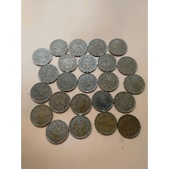 24枚日本10円铜质旧硬币(wh249679)_7788收藏__收藏热线