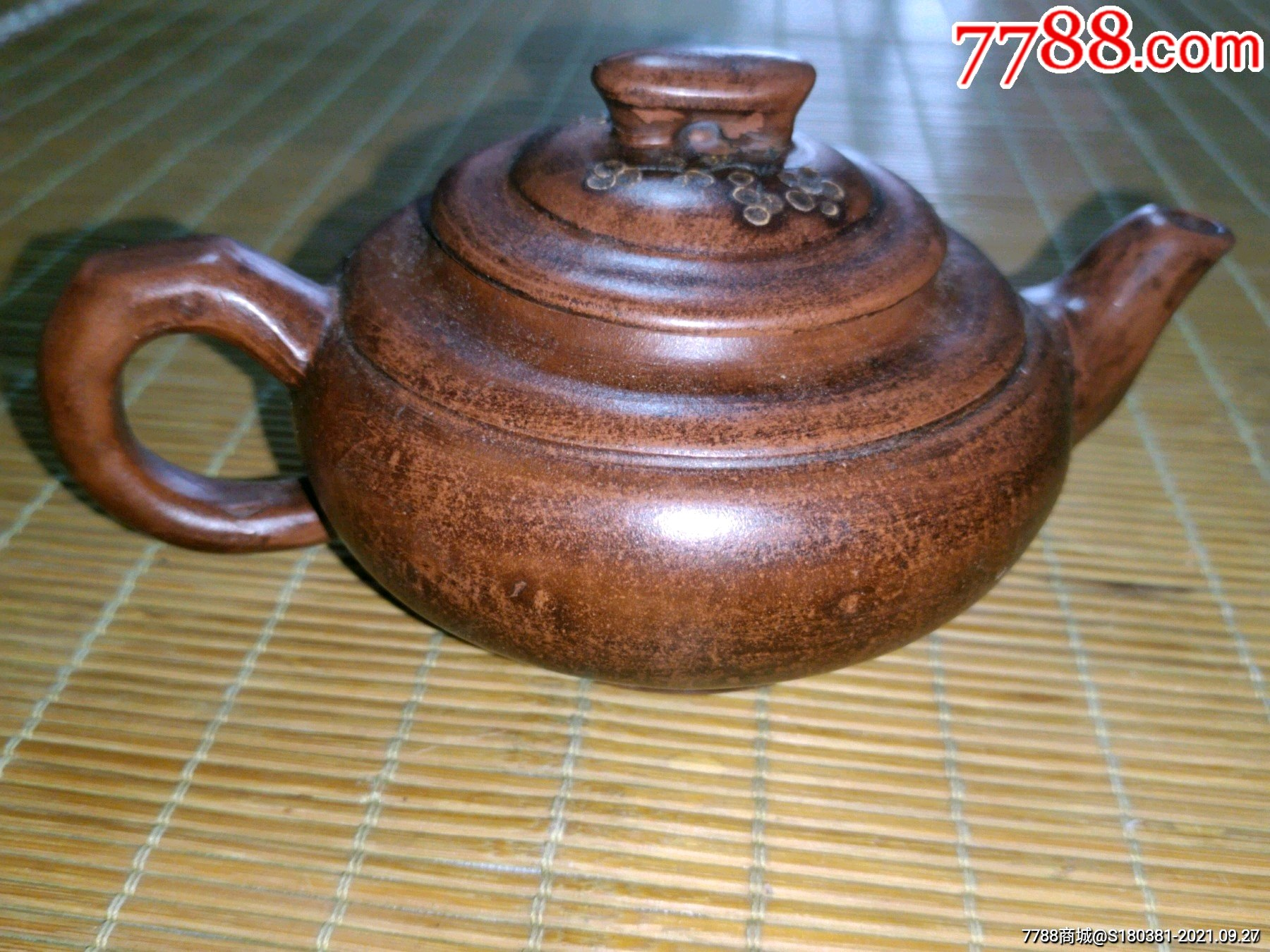 古玩杂项收藏紫砂圆茶壶摆件_单价65元/件_第10张_7788收藏__收藏热线