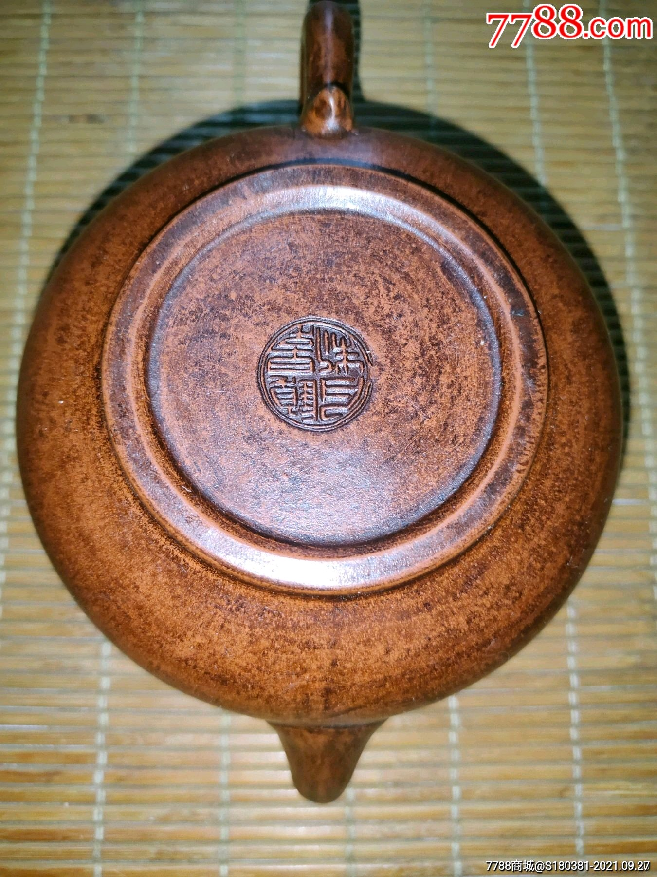 古玩杂项收藏紫砂圆茶壶摆件_单价65元/件_第16张_7788收藏__收藏热线