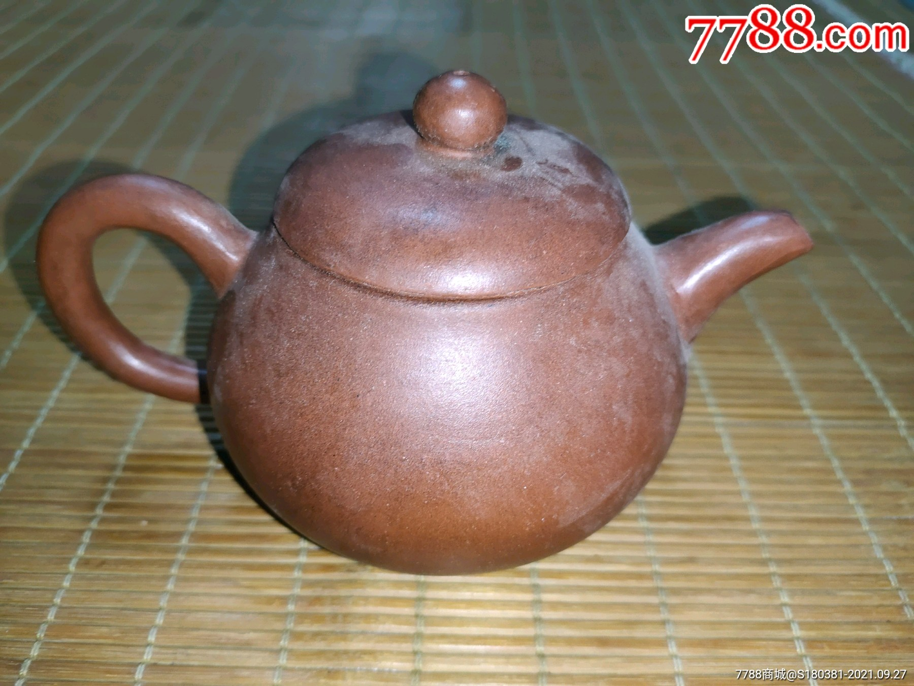 古玩杂项收藏紫砂圆茶壶摆件_单价65元/件_第22张_7788收藏__收藏热线