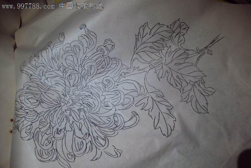 1979年【装饰基础 花卉写生方法简介 图案辅助教材1.