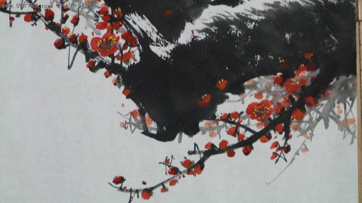 中国画写意梅花《春》