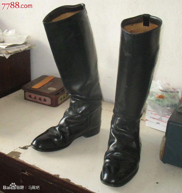 英国产全皮高档马靴,倚仗骑兵,男靴,军靴