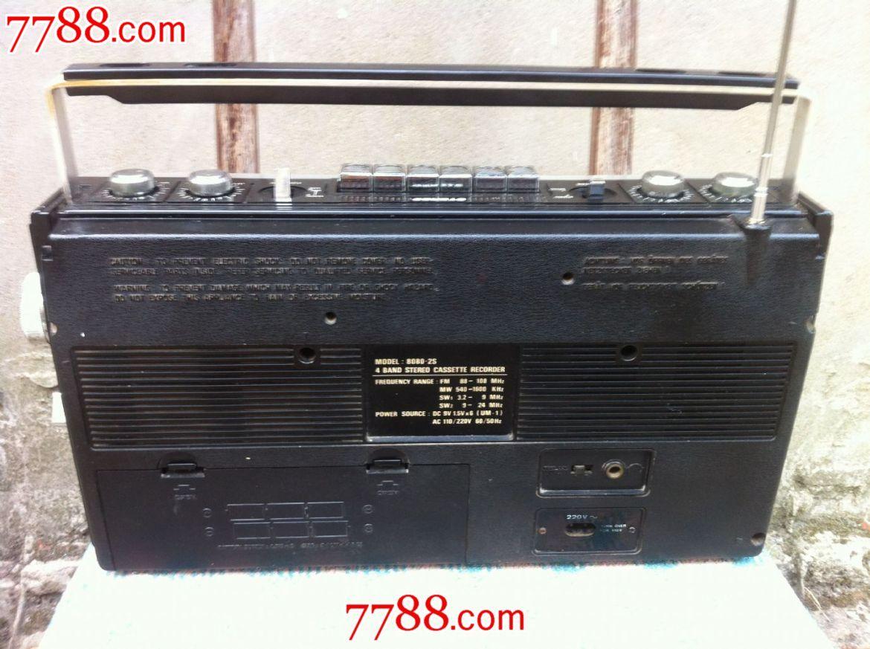 日本原装contec/康艺8080-2s收录机