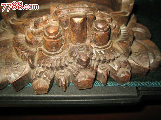 趣味烟具==巴厘岛木雕烟灰缸