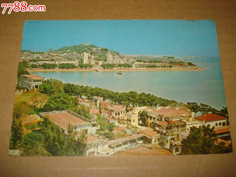 早期风景明信片《建筑物灯台》