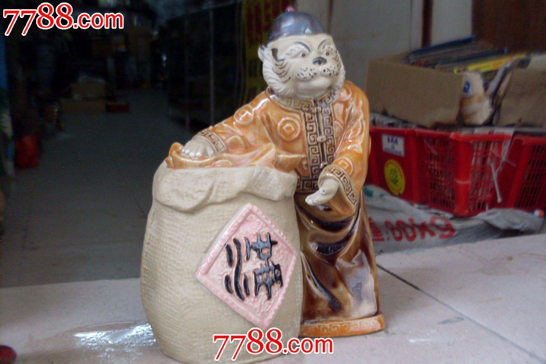 石湾陶瓷动物钱罐