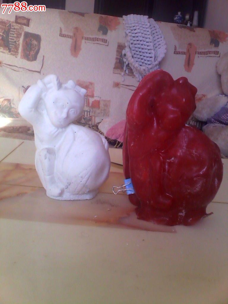 石膏动物像模具