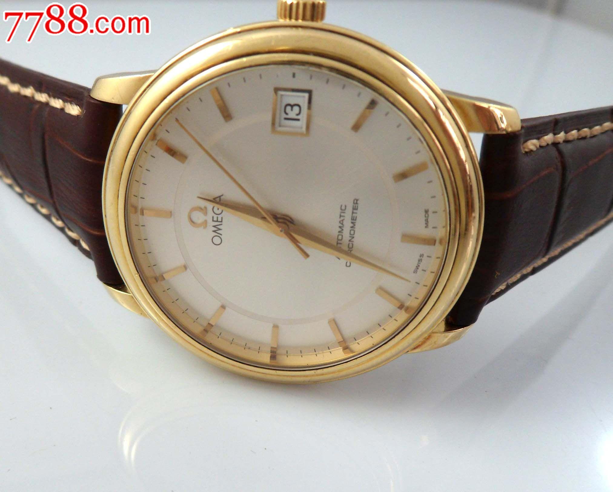 现货18k黄金欧米茄omega1120自动机械表_手表/腕表_店图片