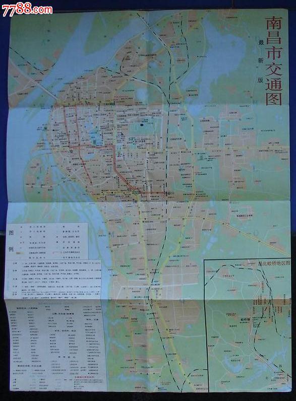 南昌市旅游交通图_旅游景点门票_平地收藏屋【7788