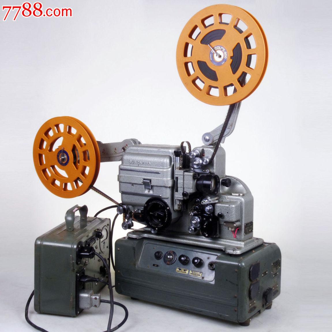 机_古董老物件怀旧收藏98新老五四电影机放映机16毫米16mm乌克兰kat