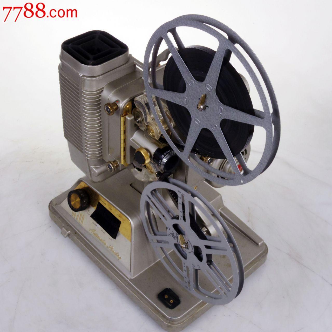老物件迪赳dejur8毫米8mm电影机放映机可正常放映瑕疵图片