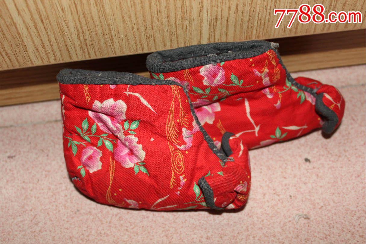 纯手工制作婴儿棉鞋_男女/鞋靴_鼎山收藏阁【7788收藏